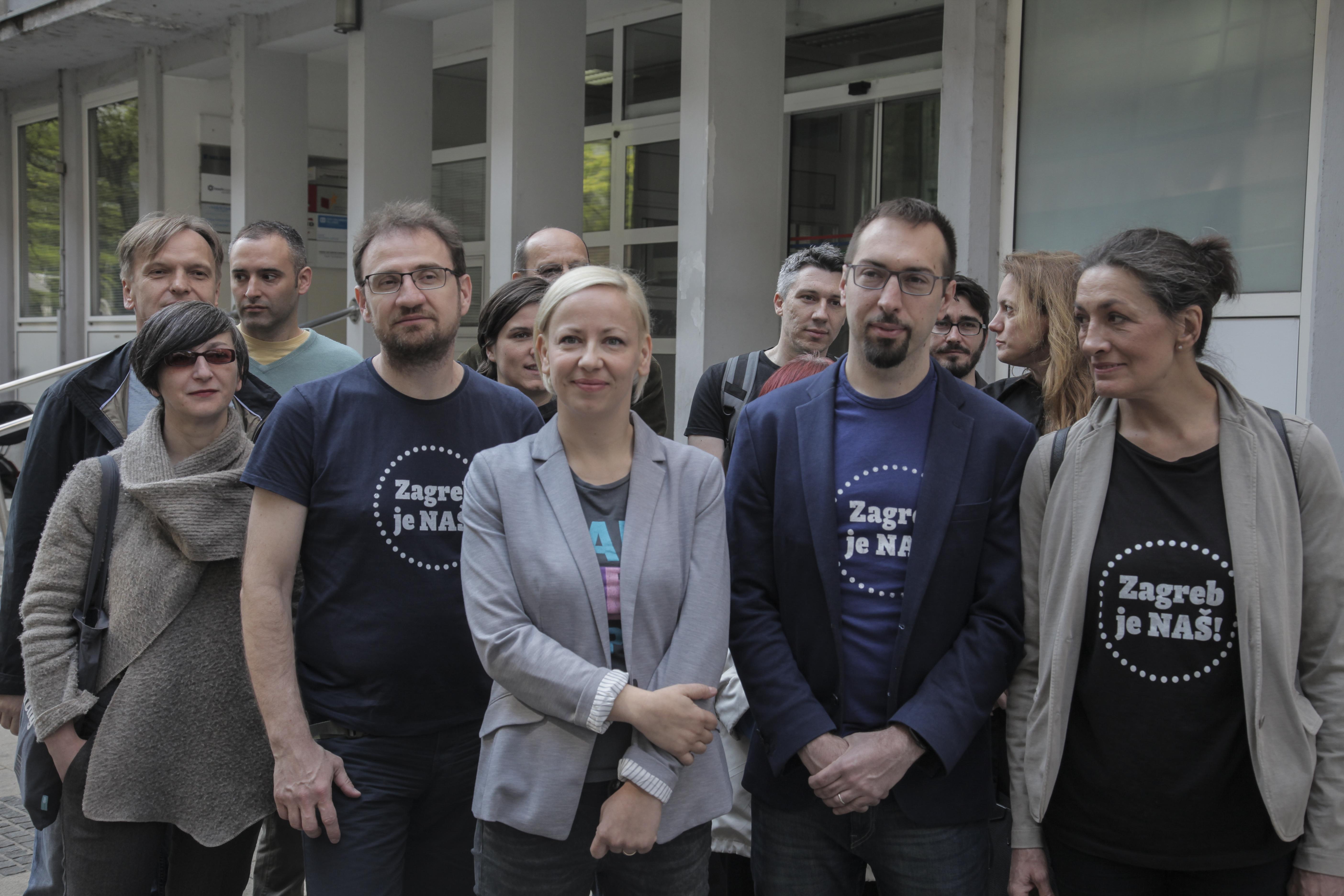 "Danijela Dolenec i Urša Raukar kandidatkinje za dogradonačelnice Zagreba platforme ""Zagreb je NAŠ!"""