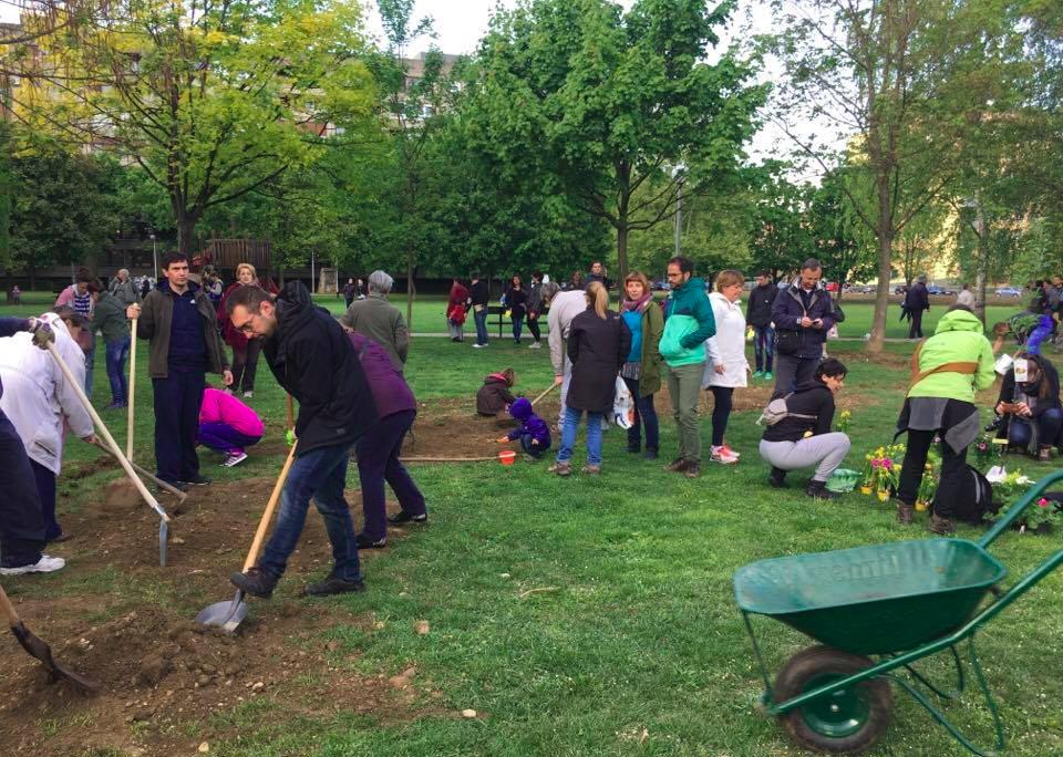 Zajedno sa stanovnicima Savice u obrani parka:  Bandić se ponaša poput uvrijeđenog djeteta. Bageri neće proći!