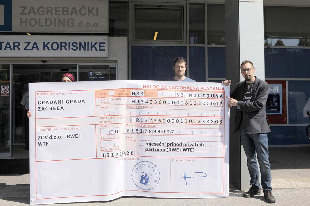 Zaustavit ćemo daljnju pljačku građana kroz reviziju štetnog ugovora o pročišćavanju otpadnih voda i time sniziti cijenu vode u Zagrebu